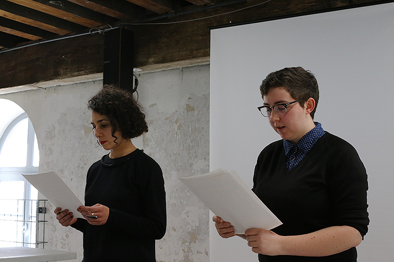 Aniara Rodado et Julia Whittaker